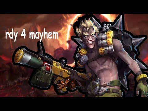 Junkrat - actually strong after the buff // Heroes of the Storm