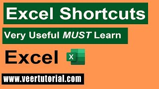 Excel 2013 Tips and Tricks | Insert Column Rows Data | Most Common used Shortcut keys