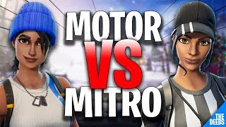 FNATIC MOTOR 1 VS 1 ATLANTIS MITRO | Fortnite Highlights