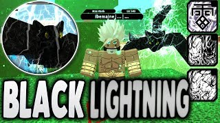 NEW BLACK LIGHTNING KG | Roblox NRPG Beyond Update | iBeMaine