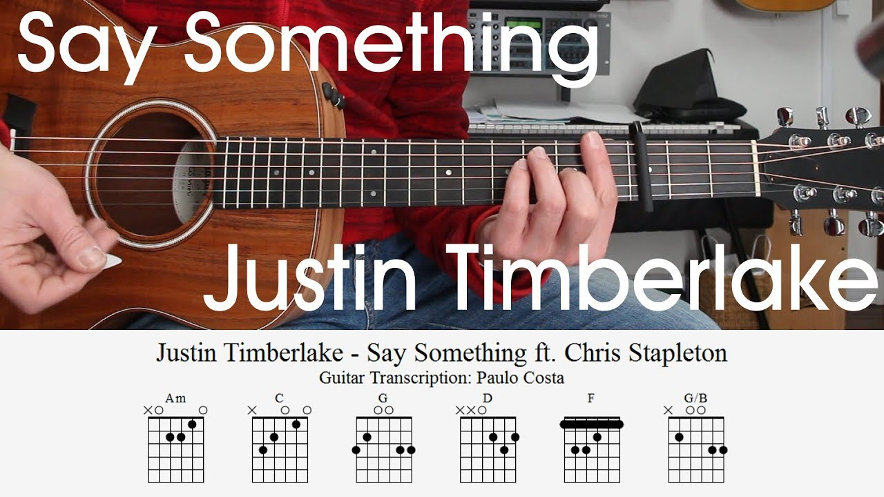 justin-timberlake-say-something-guitar-lesson-chords-how-to-play-tutorial-paulo-costa