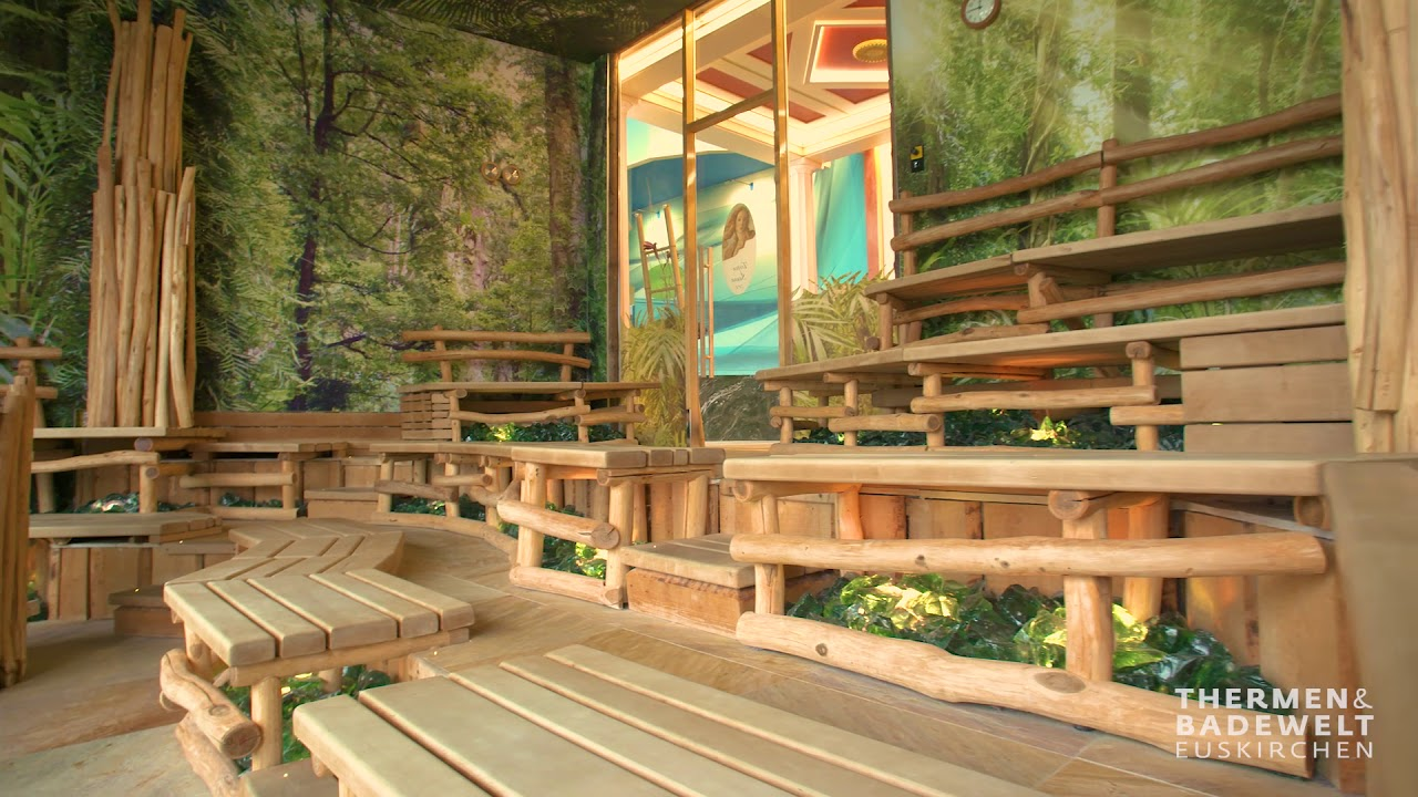 tropen sauna thermen badewelt euskirchen youtube. Black Bedroom Furniture Sets. Home Design Ideas