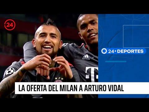 La exorbitante oferta del Milan a Arturo Vidal