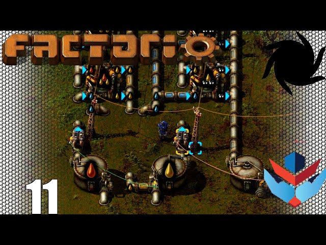 Factorio 1.0 Multiplayer 1K SPM Challenge - 11 - Advanced Oil Production