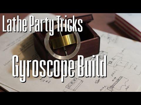 Lathe Party Tricks: Gyroscope Build