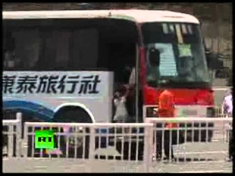 Hostage Bus Drama Malina - Bus Gegijzeld in Manila - Bus with people from Hong Kong