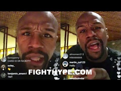 "MAYWEATHER REVEALS COMEBACK OFFER, FIGHTING IN UFC; POPPIN MAD SH*T: ""THERE'S ONLY ONE GOAT...ME"" thumbnail"