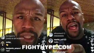 """MAYWEATHER REVEALS COMEBACK OFFER, FIGHTING IN UFC; POPPIN MAD SH*T: """"THERE'S ONLY ONE GOAT...ME"""""""