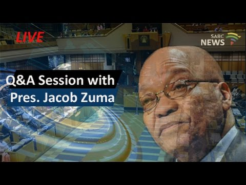 President Zuma Q & A session, 25 October 2016