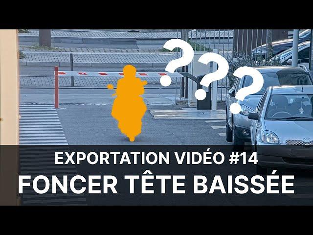 Vidéoprotection en Copropriété - Extrait #14 : foncer tête baissée