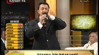 ALİ TEL   Kanaltürk   Sahurname Programı  Sabah Ezanı