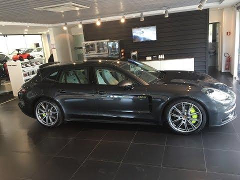 Primeiro Porsche Panamera 4 E-Hybrid Sport Turismo em Brasília