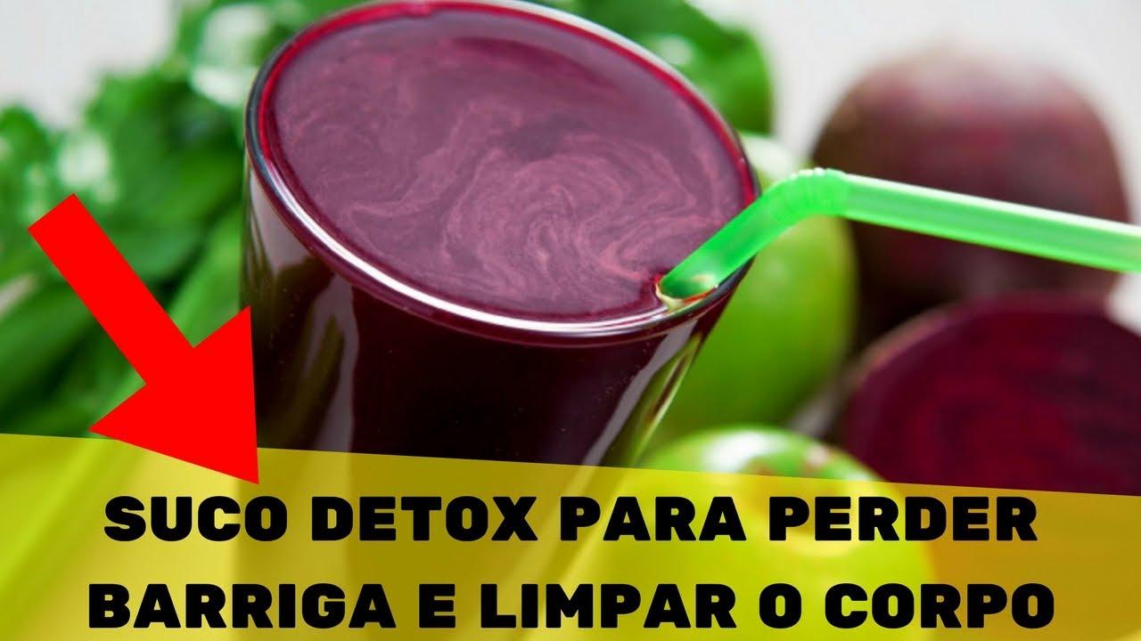 Suco de Beterraba Detox Para Perder Barriga, receita para