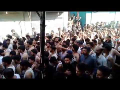 Markazi Dasta Abbasia Olding ll Ghareeb e karbala BaBa ll 10 Muharram 2020 skardu