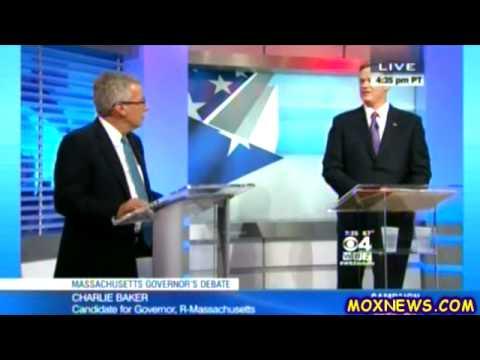 MARTHA COAKLEY vs CHARLIE BAKER vs EVAN FALCHUK vs SCOTT LIVELY Massachusetts Gubernatorial Debate