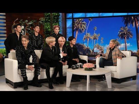 SuperM Teaches Ellen About 'Jopping'