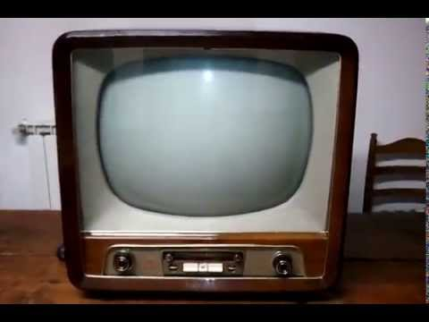 Televisore Philips 21TX144A TV anni 50 - YouTube