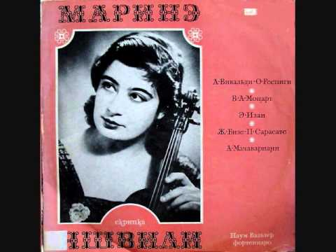 Marina Yashvili - Sarasate Carmen Fantasy -- 1975