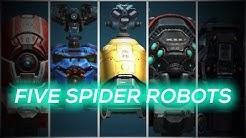 MAX SPIDER ROBOT HANGAR | Champion League Gameplay | War Robots | WR