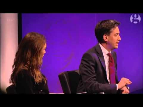 Myleene Klass attacks Ed Miliband over mansion tax – video   Politics