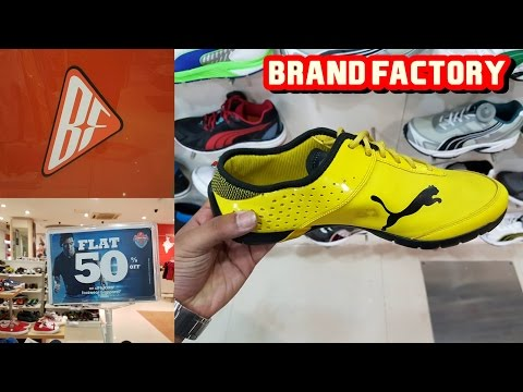 1a0e9cccc 50% Discount on Original adidas nike puma and all branded shoes | BRAND  FACTORY 2017 - YouTube
