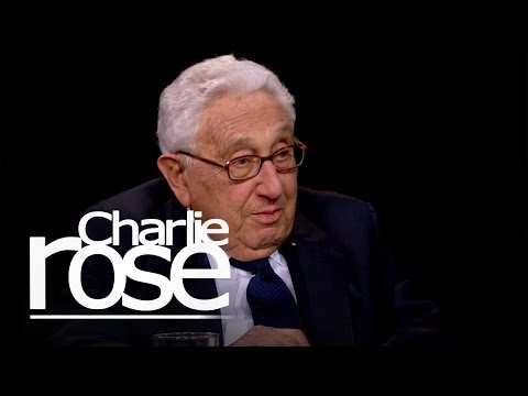 Henry Kissinger on Putin and Ukraine (Mar. 6, 2014) | Charlie Rose
