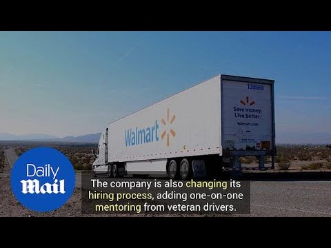 Walmart Set To Raise Truck Driver Pay In Competition With Amazon