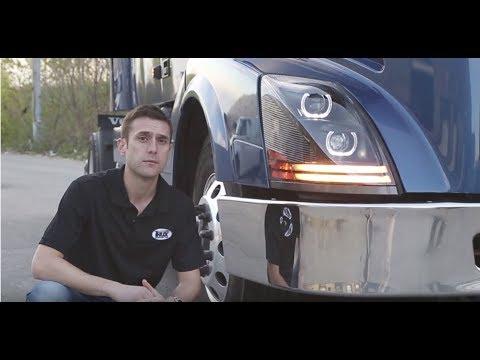 Trux Accessories Volvo VNL Headlight Assemblies