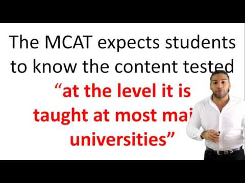All About The MCAT Exam