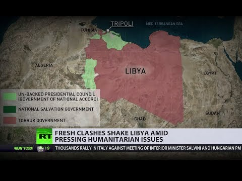 'Chaos & lawlessness': Is Libya on brink of new civil war?