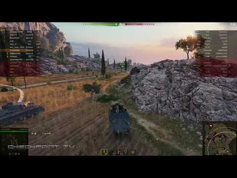 World of Tanks 1.0 #29 FCM 36 Pak 40 France Tier III Tank Destroyer  60 FPS