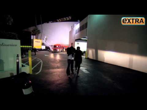 Ray J And Raffles Van Exel Leave Beverly Hills Hotel After Whitney Died? HD
