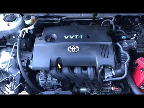 toyota corolla 1nz fe engine youtube rh youtube com Toyota Engine Car Engine