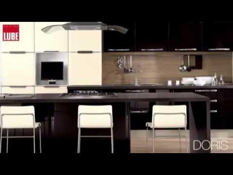 Lube Modello Doris Cucine Lube Roma - YouTube