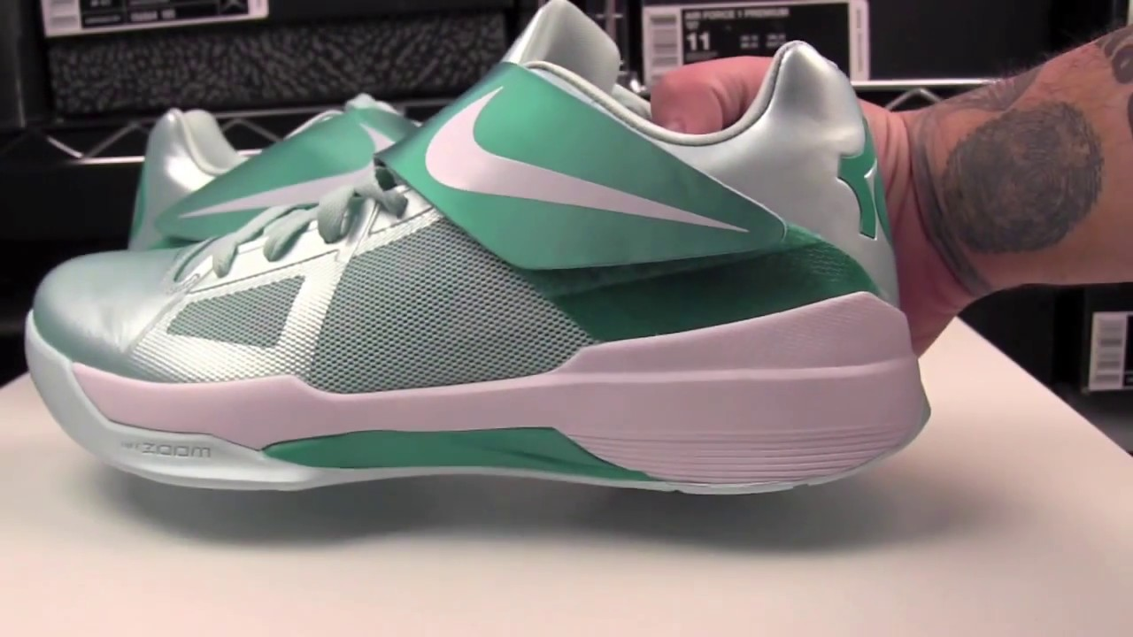 f79838c8de08 Nike KD IV (4) Easter (Mint Candy) - YouTube