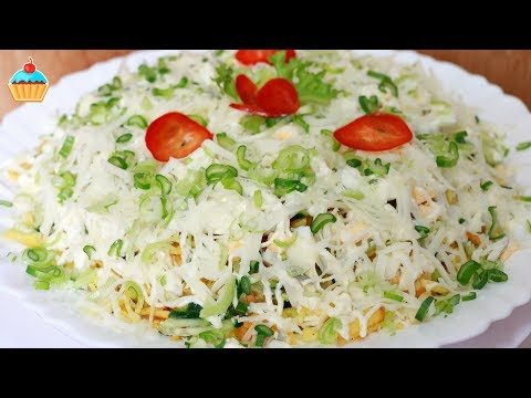 Топ вкусных салатов