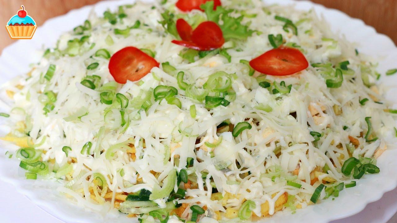 сделать вкусный салат рецепт