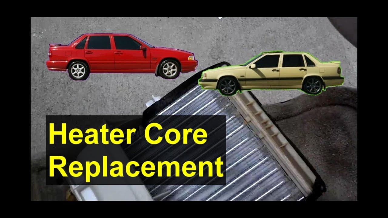 Heater Core Replacement Volvo S70 V70 Xc70 850 Auto
