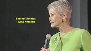Jeanne Robertson | Bestest Friend - Ring Guards