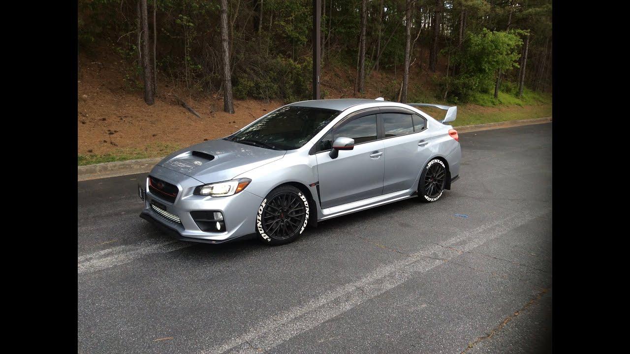 2016 Subaru Wrx Sti Engine Bay And Mods Updated Review Youtube