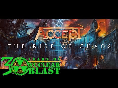ACCEPT - 'The Rise Of Chaos'  (OFFICIAL TRAILER #2)