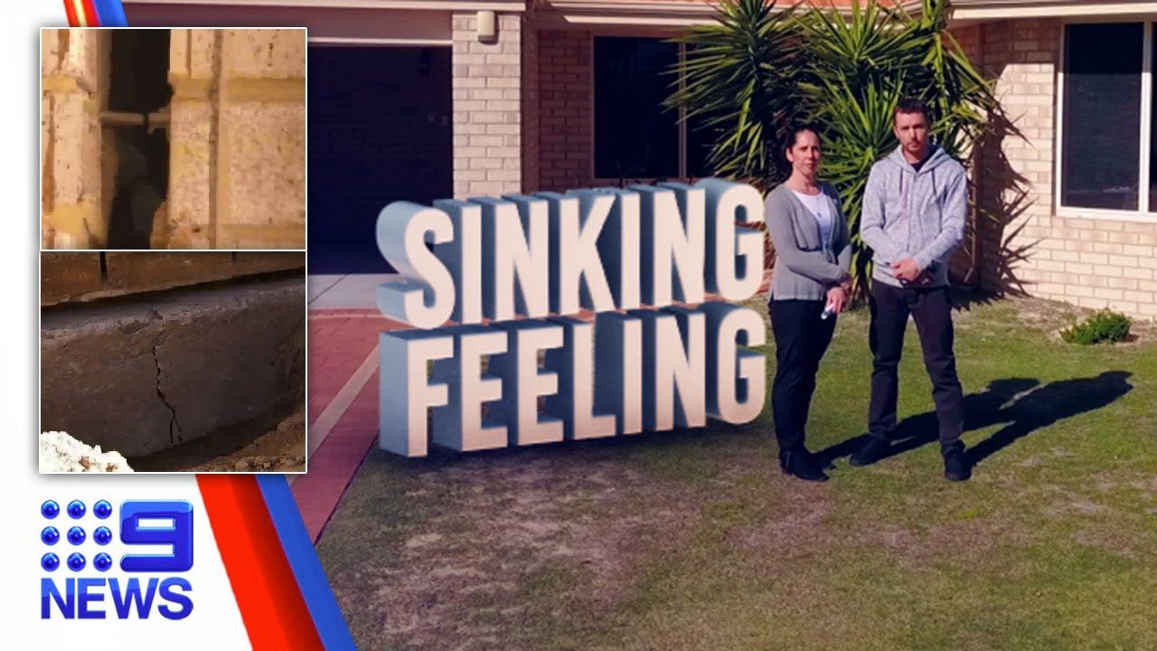 Perth's sinking suburb!