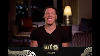 Aaron Gordon is Ready For the 2020 Dunk Contest | NBA on TNT Tuesday