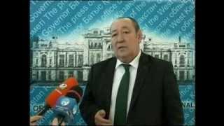 Аким области встретился с президентом Международного клуба Абая Роллана Сейсенбаева