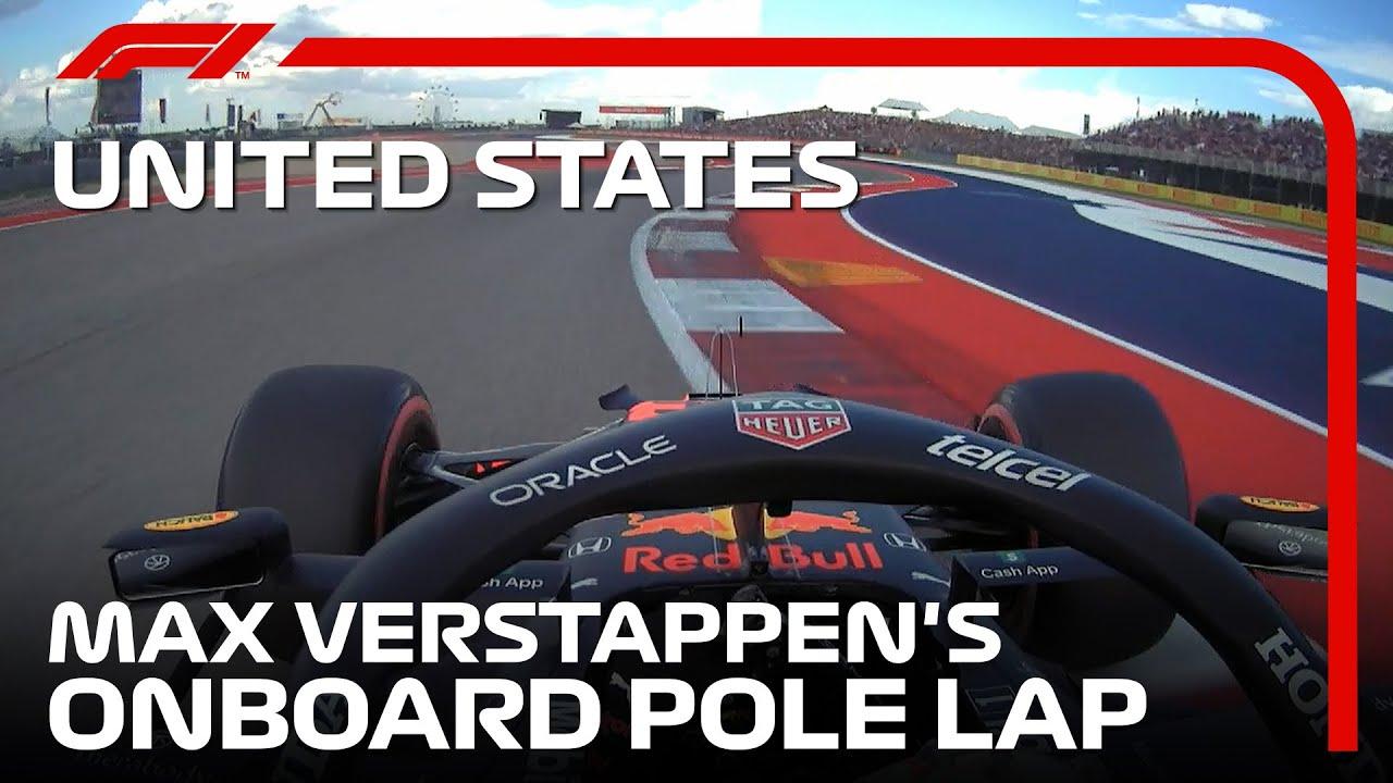 Download Max Verstappen's Pole Lap | 2021 United States Grand Prix | Pirelli
