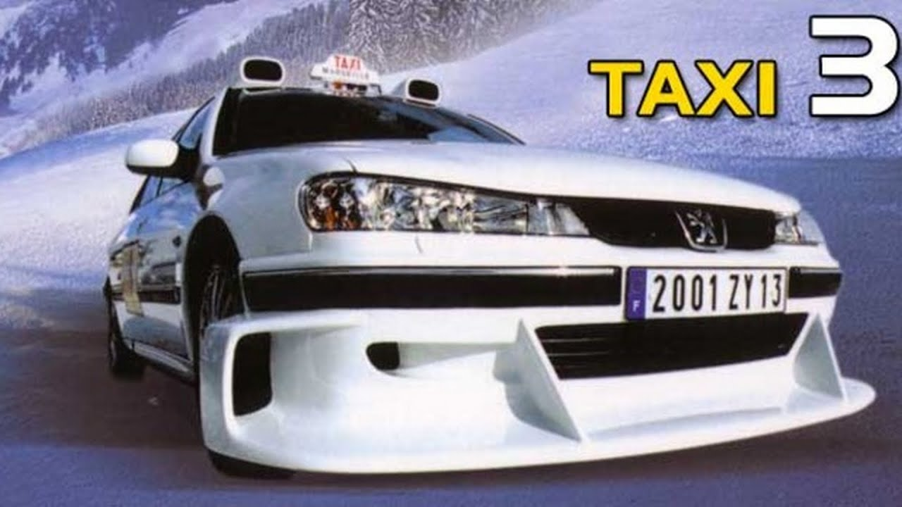 peugeot 406 из фильма такси 3