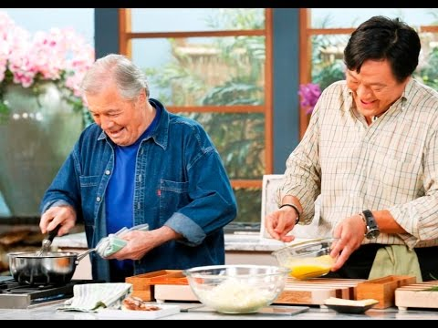 SIMPLY MING VODCAST 1201: Omelets with Jacques Pepin