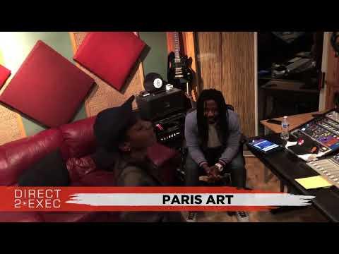 Paris Art (@EbonyParis_) Performs at Direct 2 Exec Los Angeles 4/18/18 -  Warner Music Group
