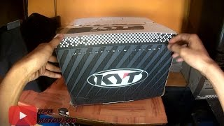 #15 FIRST UNBOXVLOG HELM KYT R10 unboxing and review