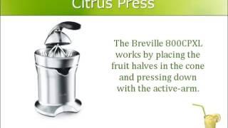 Breville 800CPXL Motorized Cit…